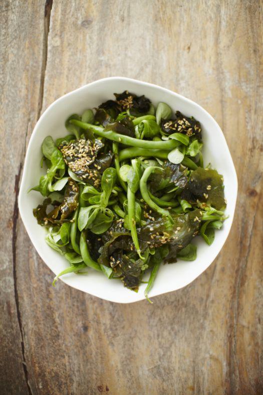 groene-salade-met-wakame-en-boontjes-door-sofie-dumont