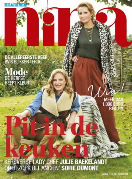sofie-dumont-op-de-cover-nina-het-laatste-nieuws-met-kersverse-lady-chef-julie-baekelandt