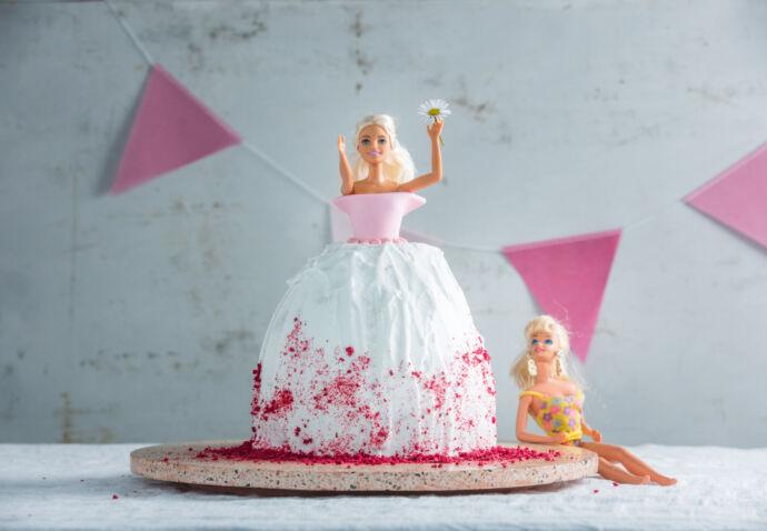 Barbiecake door Sofie Dumont
