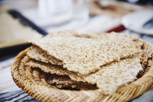 Venkel-sesam crackers Sofie Dumont