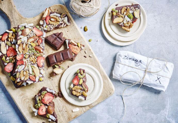 Chocoladetablet door Sofie Dumont
