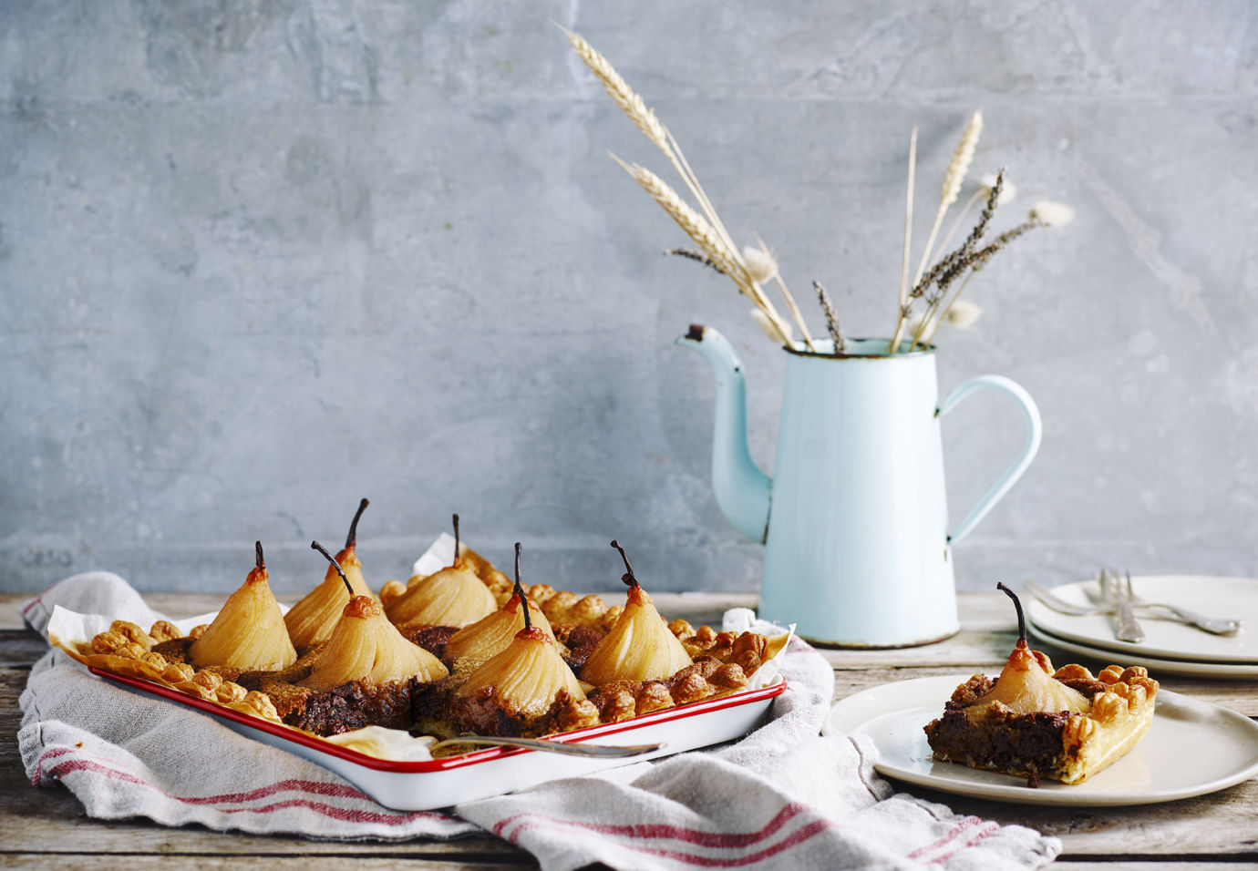 Frangipane van hazelnoot met chocolade en peer Sofie Dumont