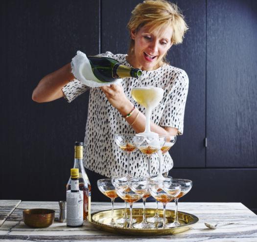 Champagnecocktail - kerstmenu 2017 - door Sofie Dumont