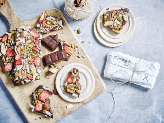 Kerstmenu 2017: Doorgeef chocoladetablet door Sofie Dumont