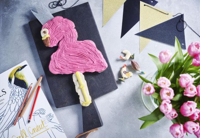 Flamingo Feesttaart Sofie Dumont