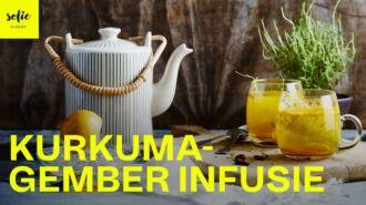 Infusion curcuma gingembre