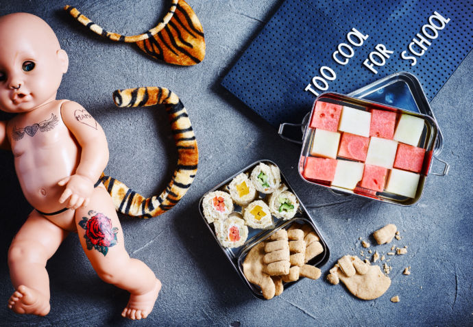 Sofie Dumont - Broodrolletjes met kleurige groenten