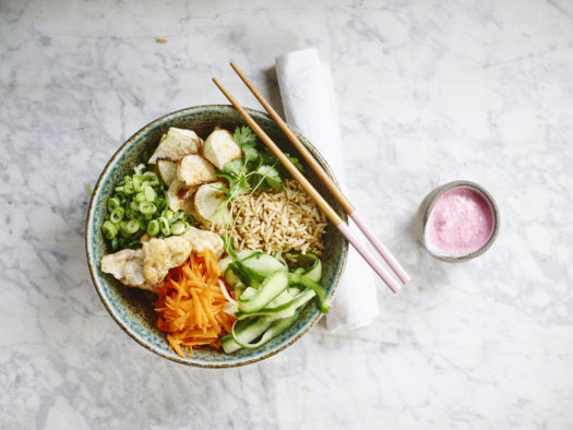 Poke bowl door Sofie Dumont