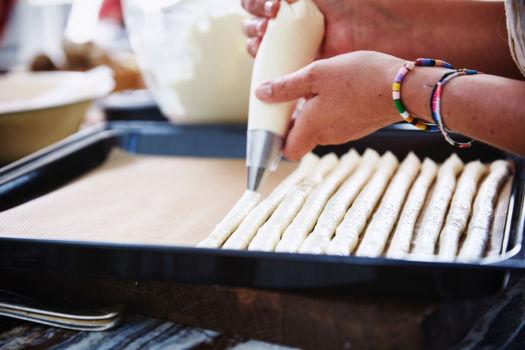 Biscuit maken