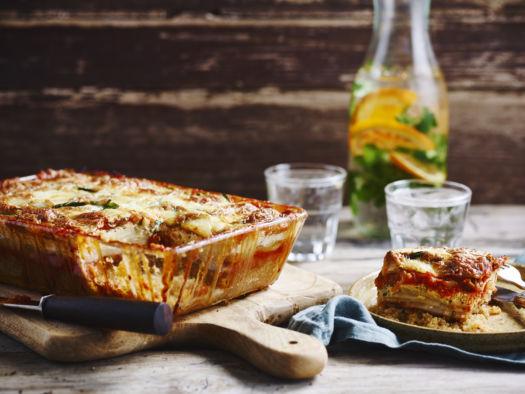 lasagne van wintergroenten en quinoa