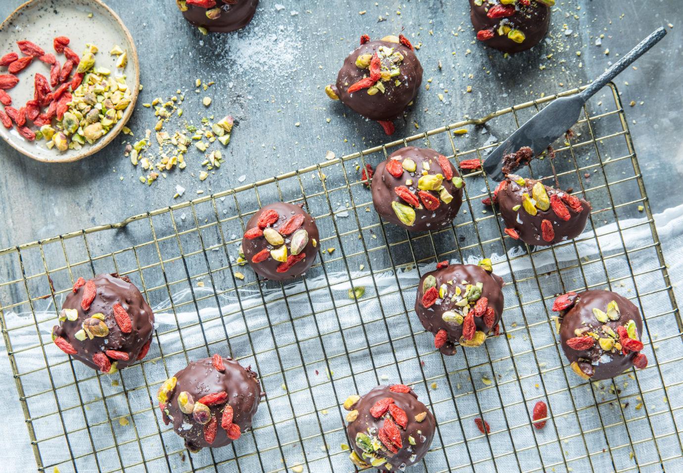 no bake brownies Sofie Dumont