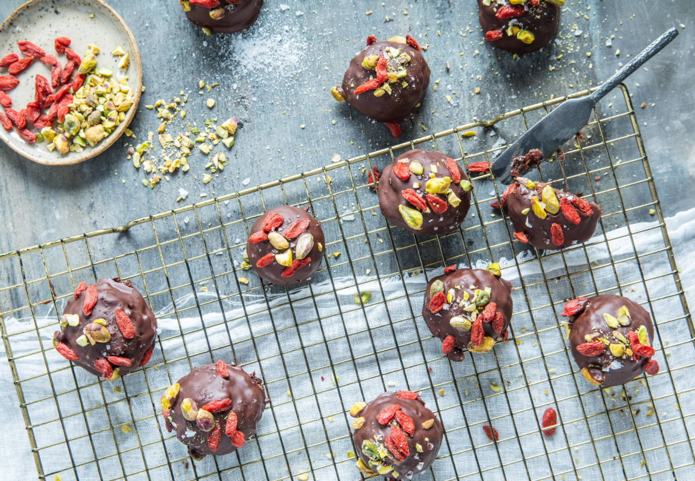 no bake brownies Sofie Dumont