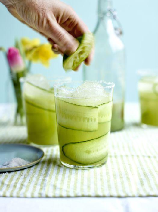 Sofie Dumont Margarita met komkommer