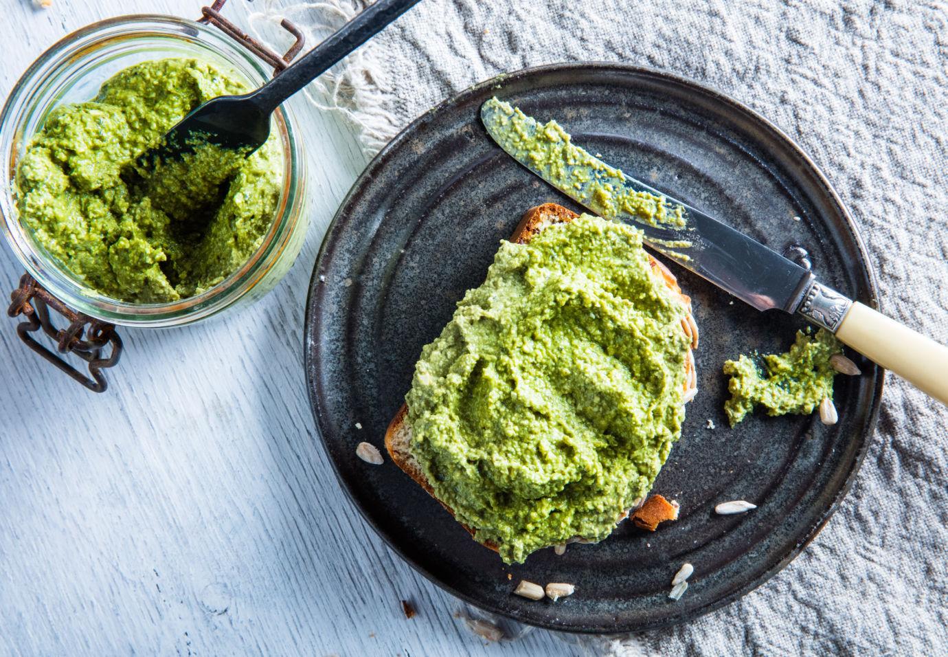 Sofie Dumont - Spread pompoenpitten en avocado