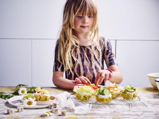 Sofie Dumont - groentecupcakes