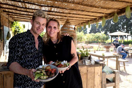 Sofie Dumont Ibiza 2019: Sofie en Jani