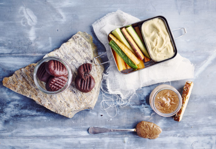 Sofie Dumont: Back to work & school - Hummus, speculoospasta, koekjes