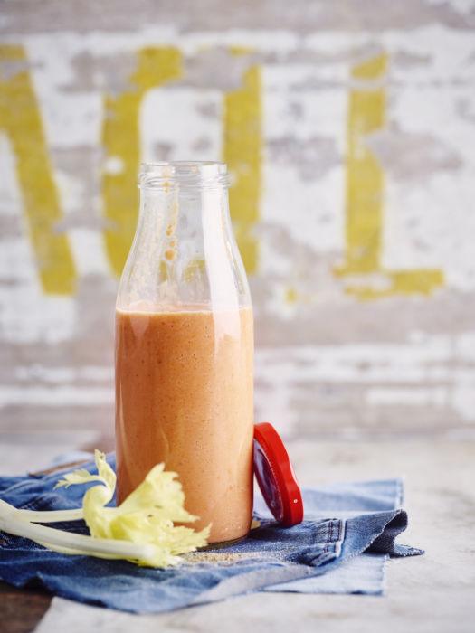 Lunch shake : veggie bloody mary door Sofie Dumont