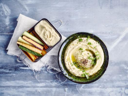 Kids proof kikkererwten humus door Sofie Dumont