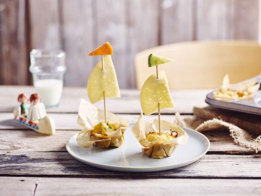 Passendale ei-ontbijtmuffins door Sofie Dumont - kids versie
