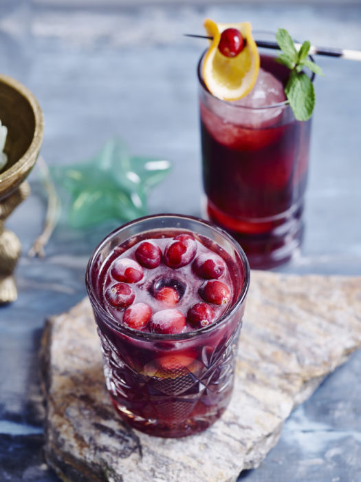 Cranberry mule of cranberry mocktail door Sofie Dumont