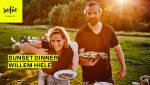 Sunset Dinner   Willem Hiele