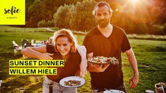 Sunset Dinner | Willem Hiele