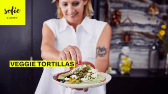 Veggie tortillas