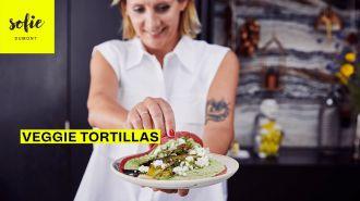 Veggie tortillas