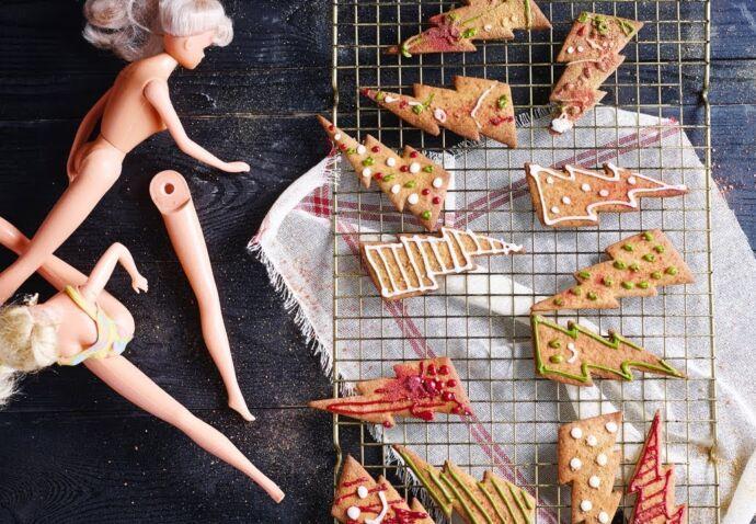 Donderslagkoekjes met eetbaar glitter