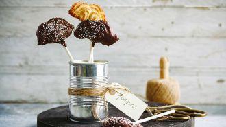 Chocosnorren – Gespoten zandkoekjes met chocolade