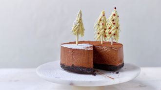 Chocolademoussetaart met Oréo