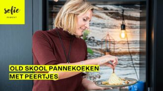 De enige echte pannenkoeken met peertjes en vanille