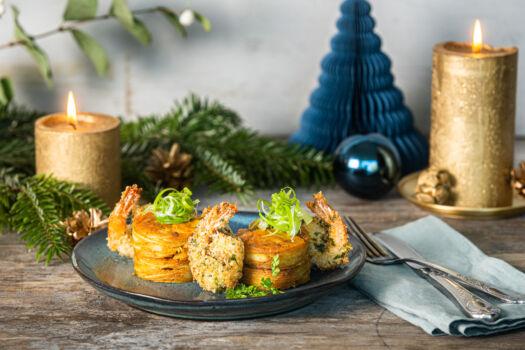 Krokante-scampi-en-gratin-van-pastinaak-met-gele-curry-door-Sofie-Dumont