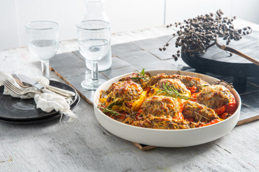 Gevulde-paprika-met-rundergehakt-en-mozzarella-door-Sofie-Dumont