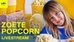 Zoete popcorn