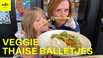 Vegetarische Thaise Balletjes in tomatensaus