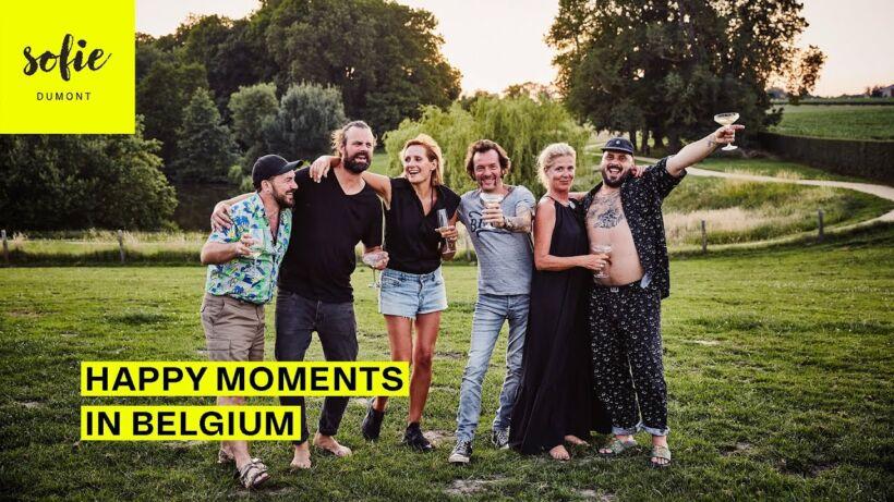 Happy moments in Belgium