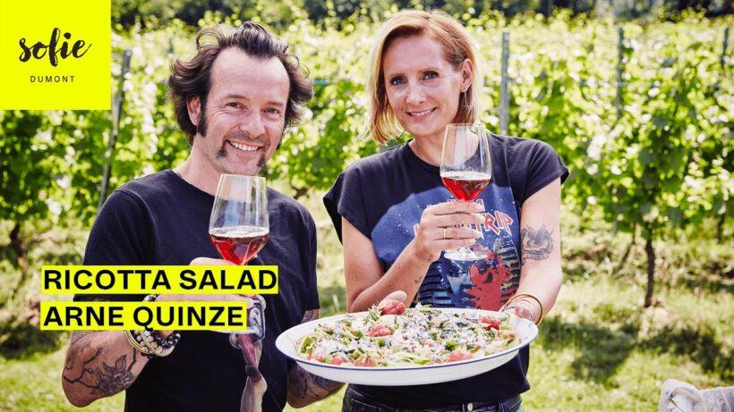 Ricotta Salade   Arne Quinze