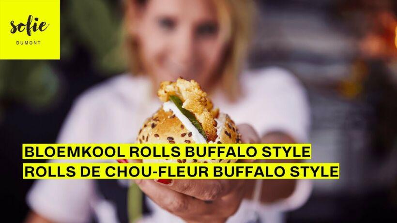Bloemkool Rolls Buffalo Style