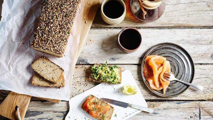 Chia-quinoabrood: gluten en lactosevrij