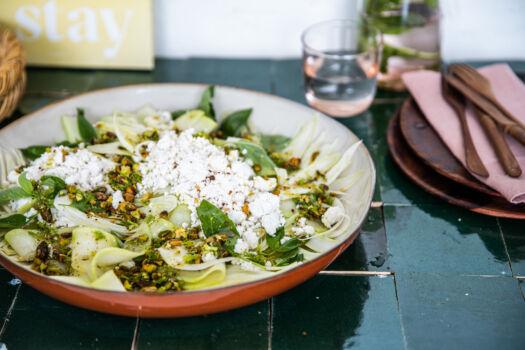 Salade-van-venkel-en-meloen-door-Sofie-Dumont
