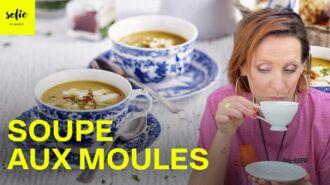 Soupe aux moules avec fenouil et moutarde