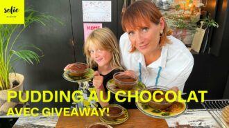 Pudding au chocolat à la vapeur